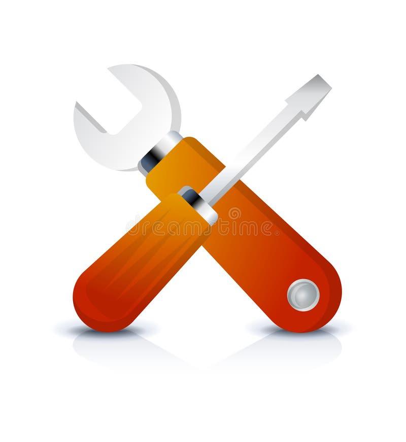Icono del Web de la configuración libre illustration