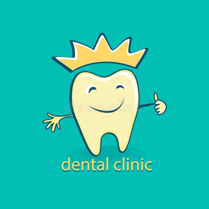 Icono dental Estomatología stock de ilustración