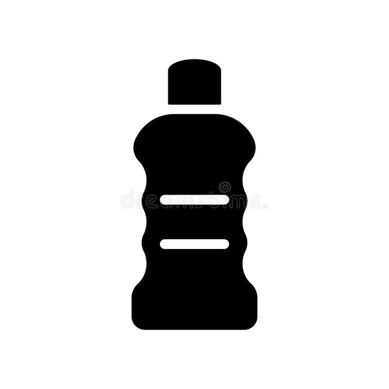 Icono detergente  stock de ilustración