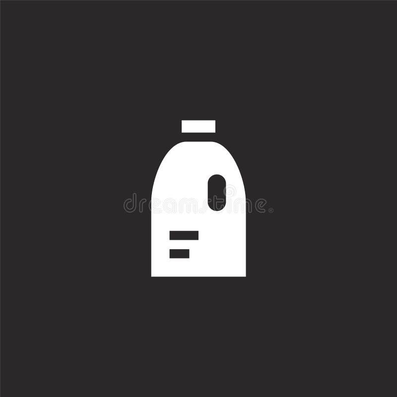 Icono detergente Icono detergente llenado para el diseño y el móvil, desarrollo de la página web del app icono detergente del lav libre illustration