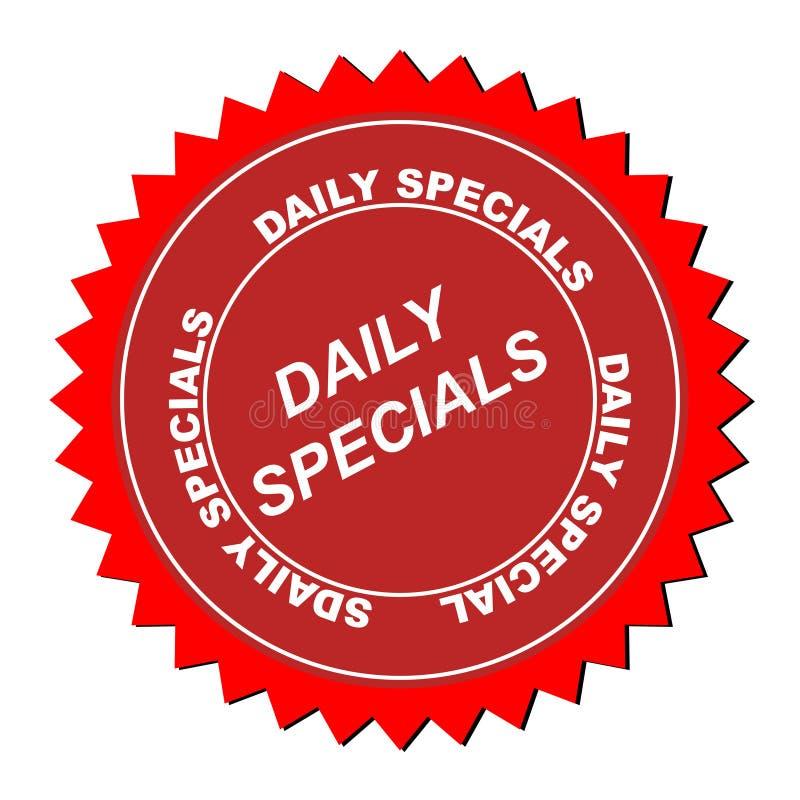 Icono diario de los specials libre illustration