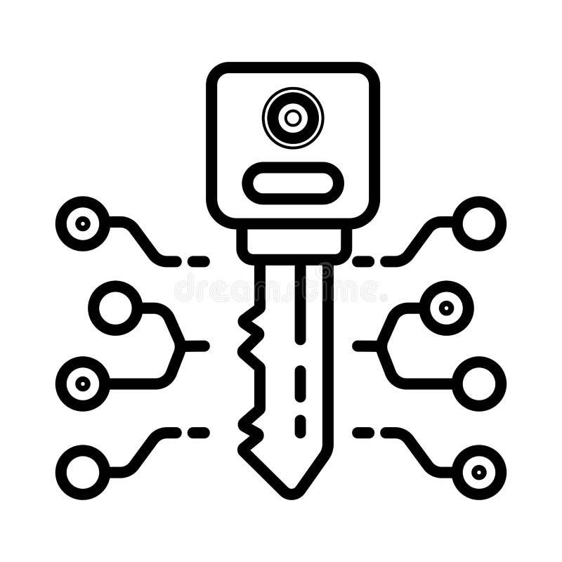 Icono dominante de Techno libre illustration