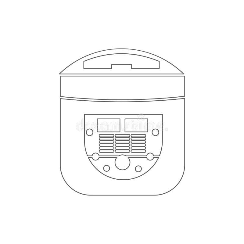 icono eléctrico del fabricante de pan Elemento de la seguridad cibernética para el concepto y el icono móviles de los apps de la  libre illustration