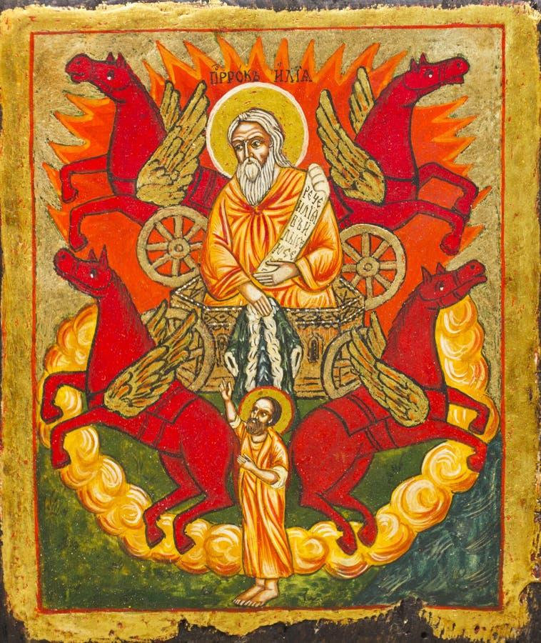 Icono en iglesia foto de archivo libre de regalías