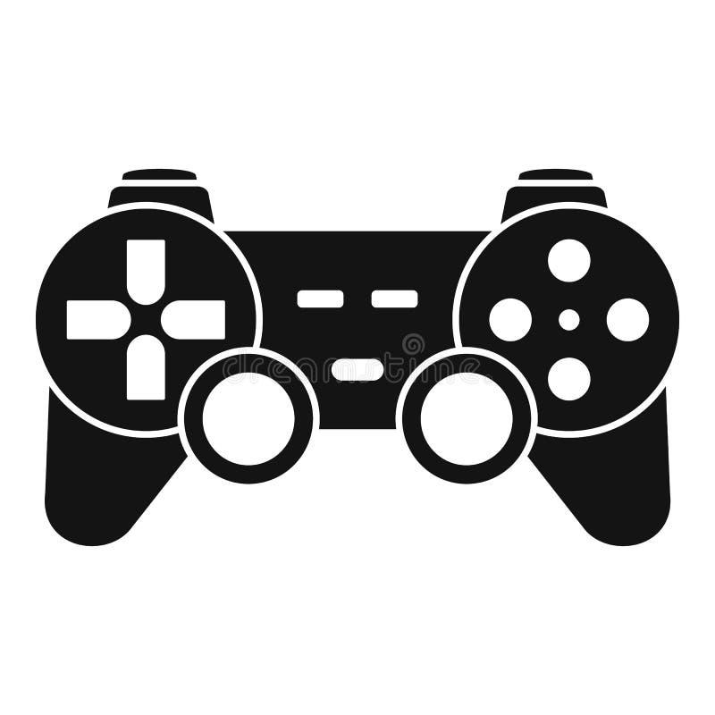 Icono ergonómico de la palanca de mando, estilo simple ilustración del vector