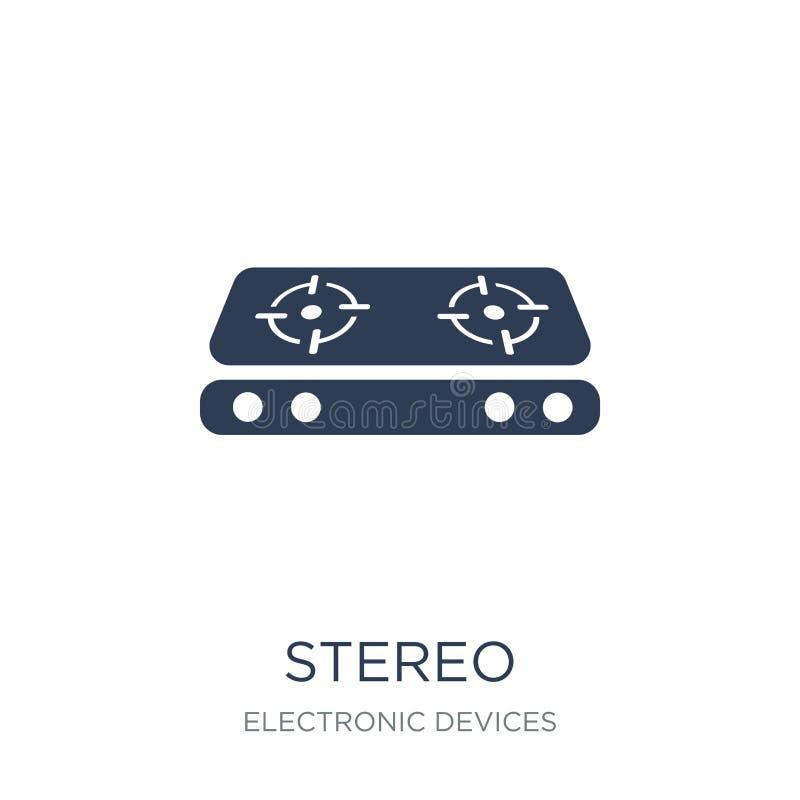 icono estéreo  ilustración del vector