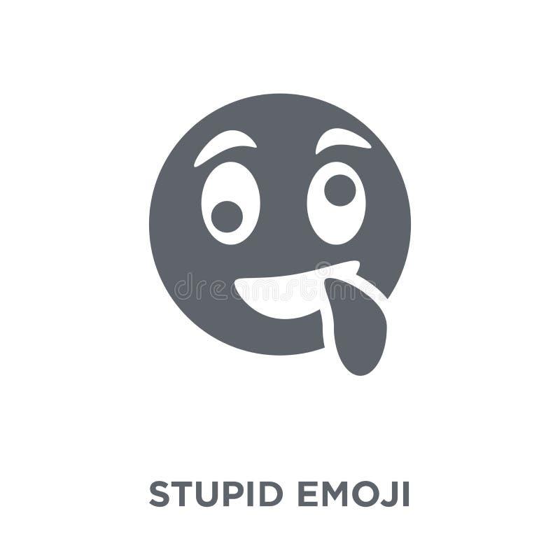 Icono estúpido del emoji de la colección de Emoji libre illustration