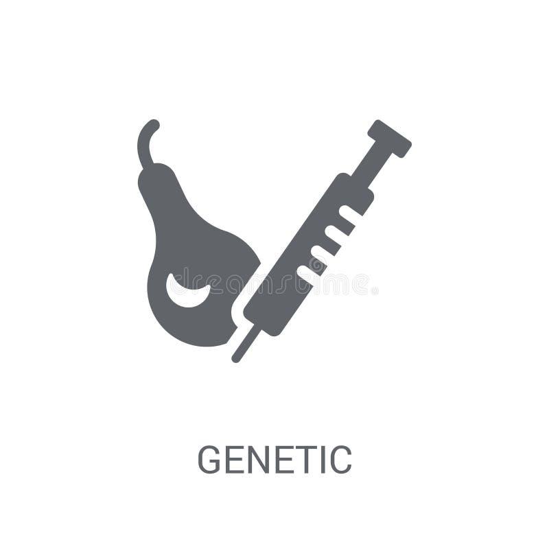 Icono genético de la modificación  libre illustration