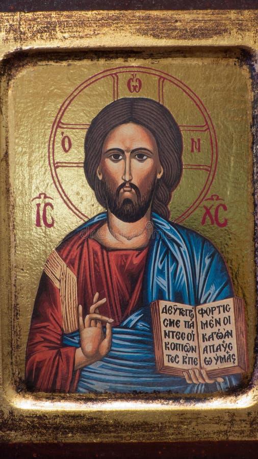 Icono griego foto de archivo