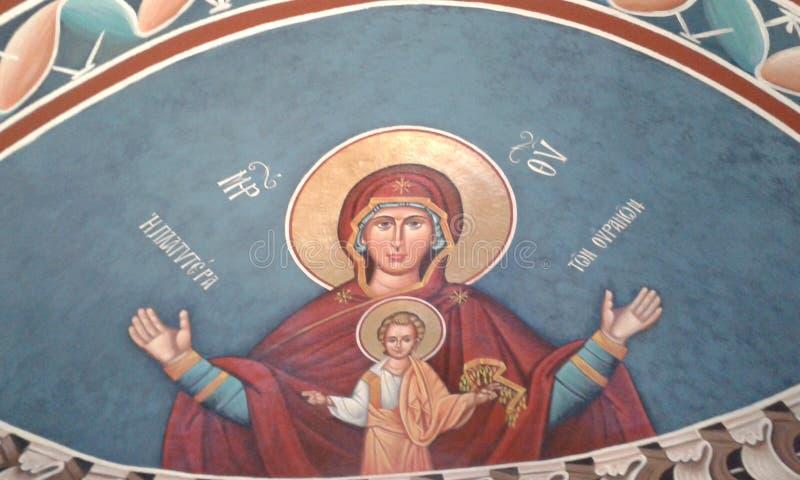Icono griego 4 imagen de archivo libre de regalías