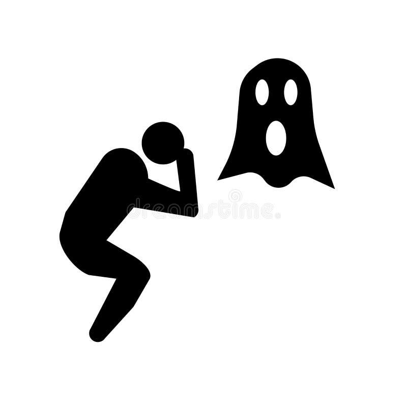 icono humano estúpido Concepto humano estúpido de moda del logotipo en el CCB blanco stock de ilustración