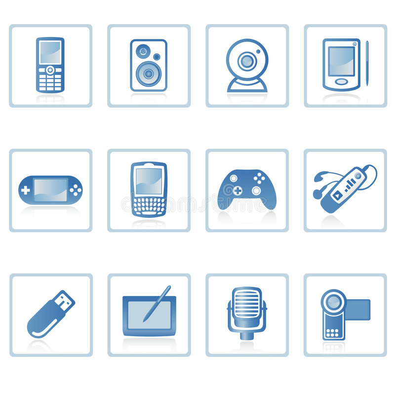 Icono I de la electrónica