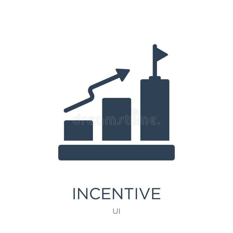 icono incentivo en estilo de moda del diseño icono incentivo aislado en el fondo blanco plano simple y moderno del icono incentiv ilustración del vector