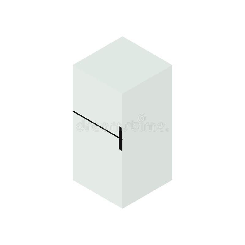 Icono isométrico del refrigerador libre illustration