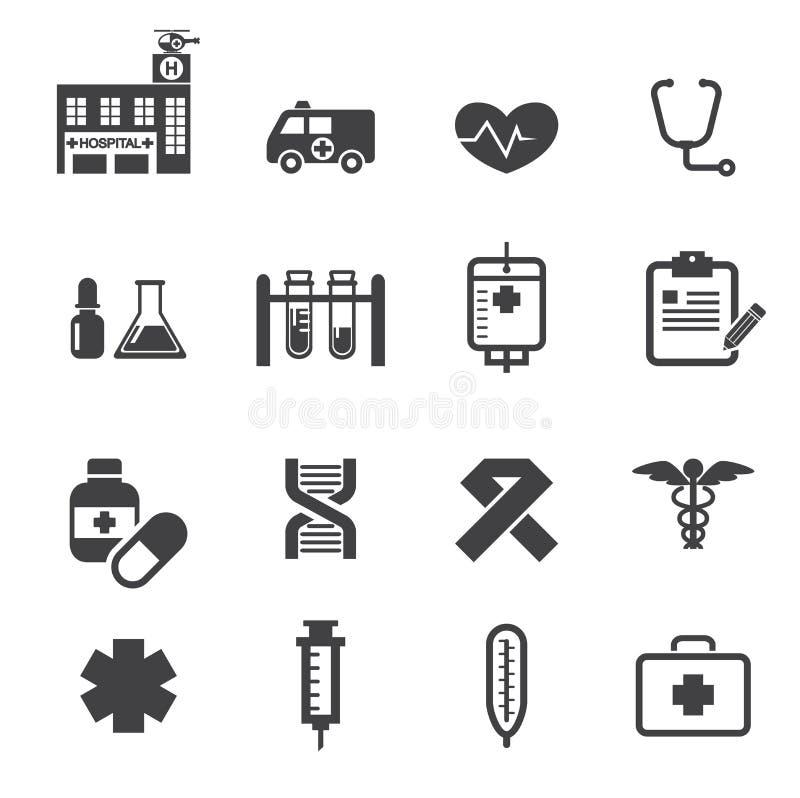 Icono médico stock de ilustración
