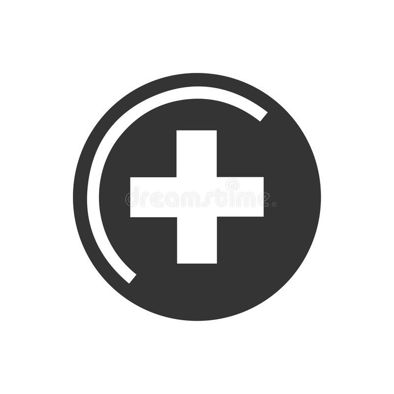 Icono médico de la muestra libre illustration