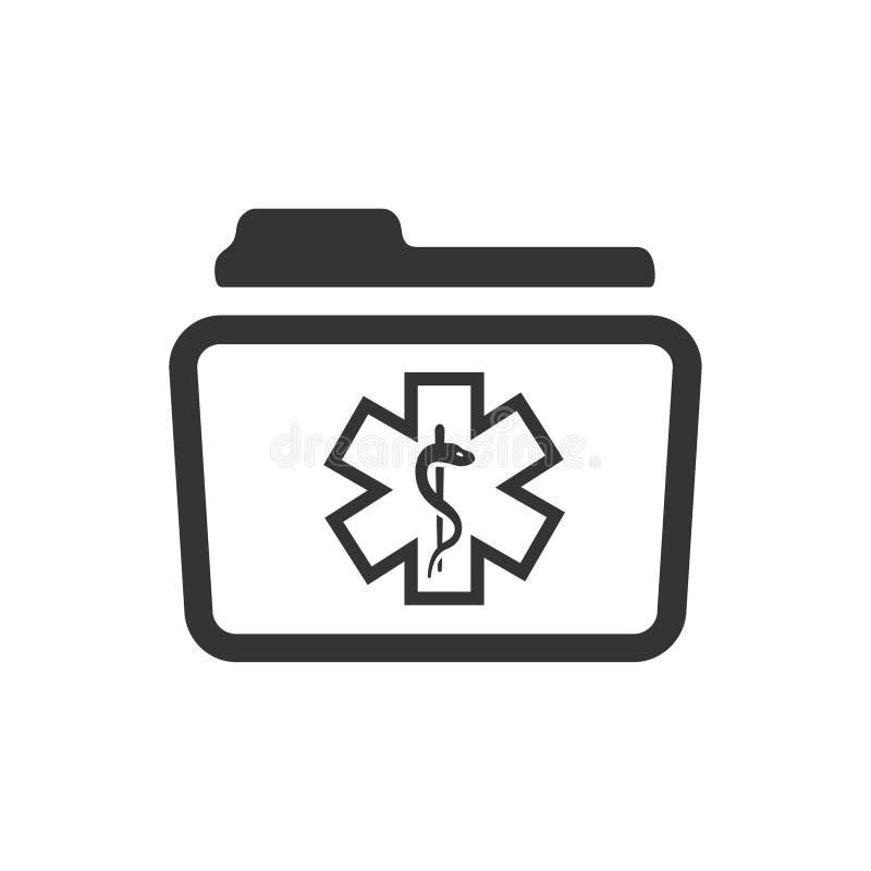 Icono médico del fichero libre illustration