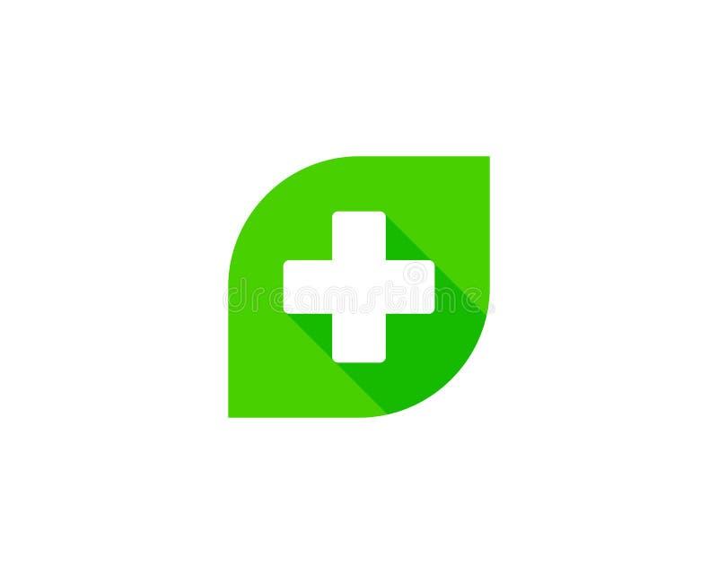 Icono médico Logo Design Element ilustración del vector