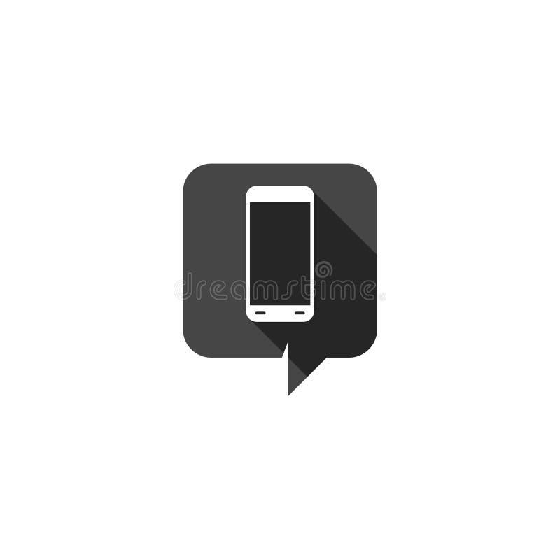 icono m?vil del app aislado en el fondo blanco ilustración del vector