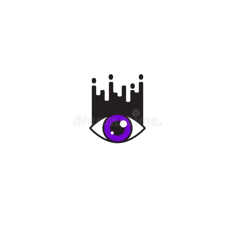 Icono moderno de la extensión de la pestaña ilustración del vector