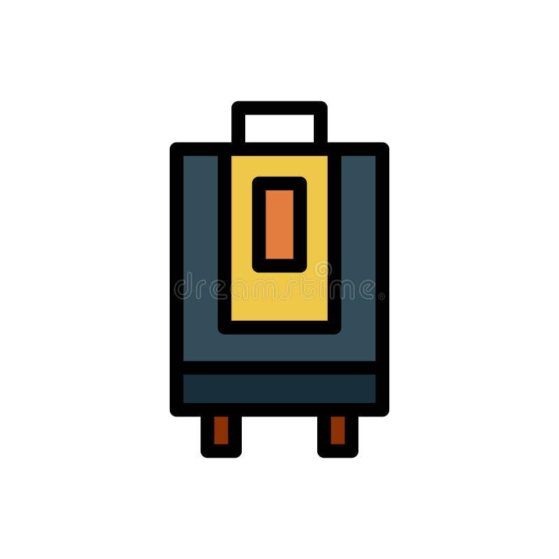 Icono o ejemplo del logotipo del vector del verano del bolso de la maleta Movimiento y color Editable Uso perfecto para el gr?fic ilustración del vector