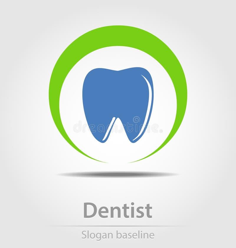 Icono originalmente creado del negocio del vector del dentista libre illustration