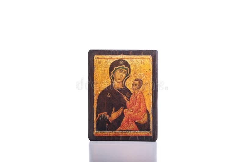 Icono ortodoxo foto de archivo