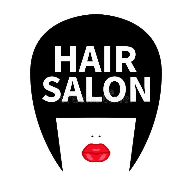 Icono para el peluquero stock de ilustración