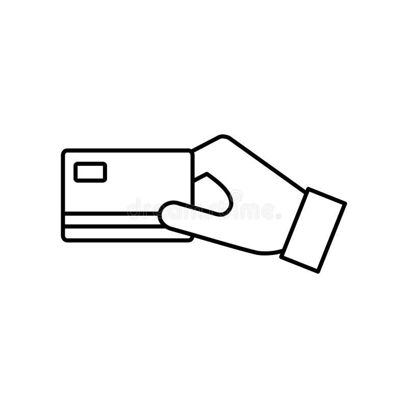 Icono plano del pago con tarjeta de crédito del vector libre illustration