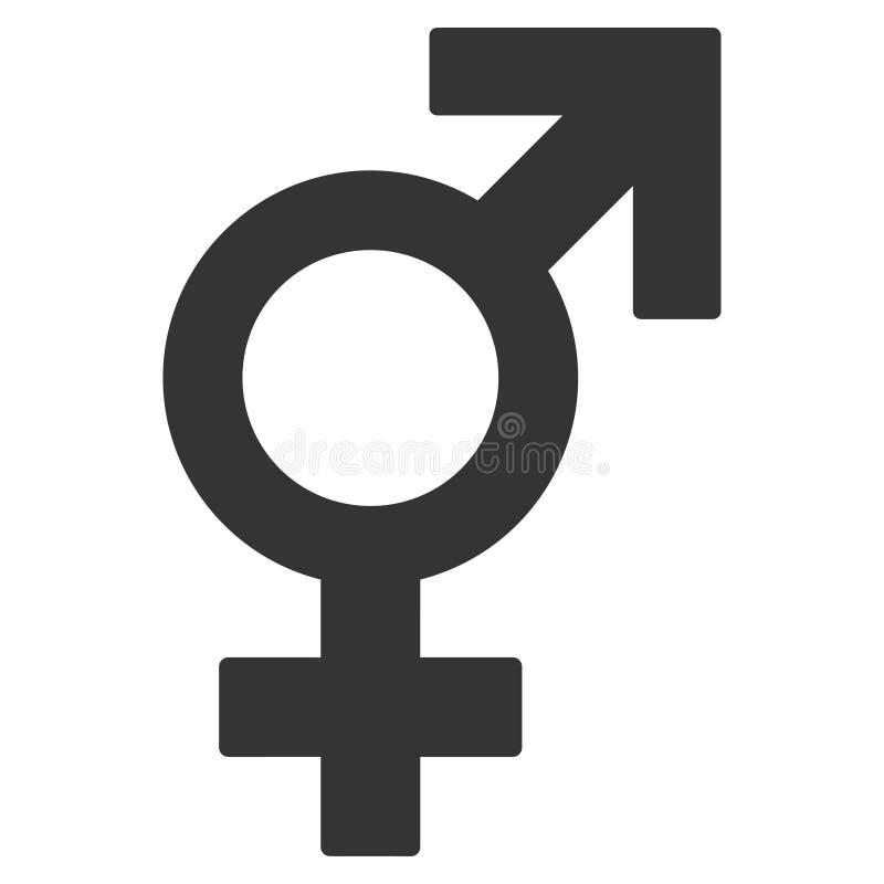 Icono plano del sex symbol libre illustration