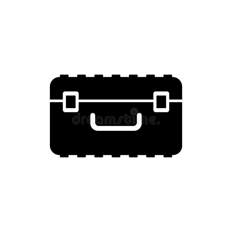 Icono plano del vector del caso libre illustration