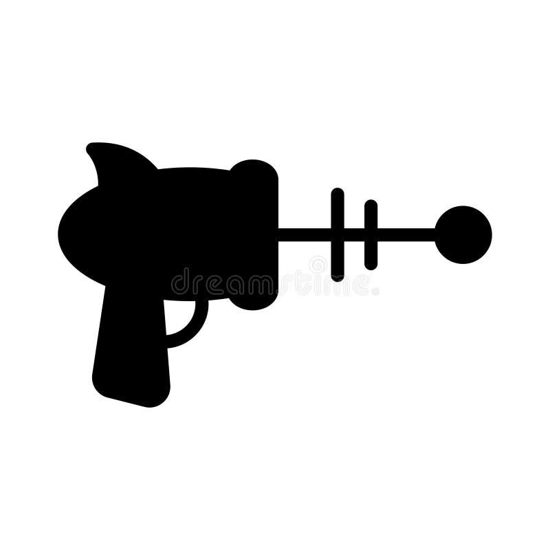 Icono plano del vector del glyph del arenador stock de ilustración