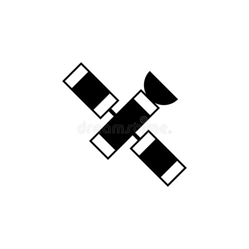 Icono por satélite Elemento de los iconos del espacio Icono superior del diseño gráfico de la calidad Muestras, icono de la colec stock de ilustración