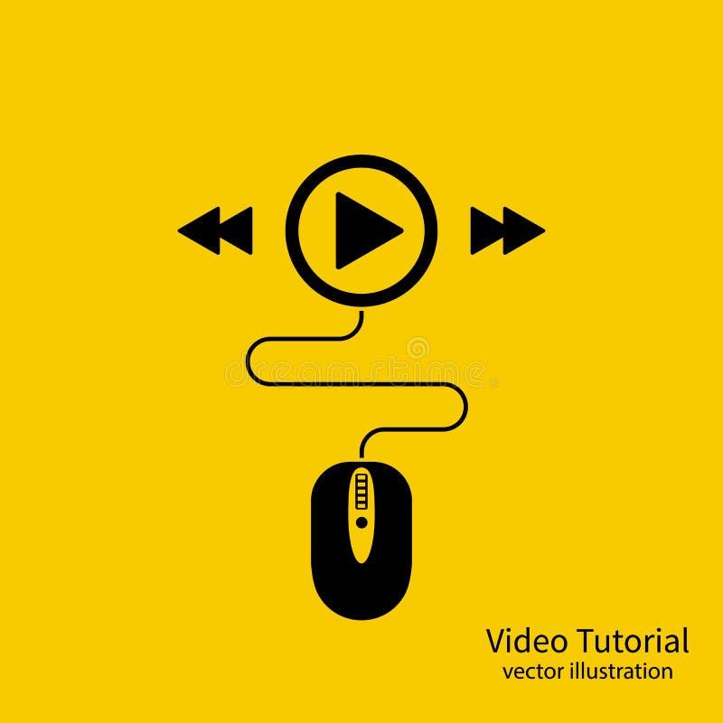 Icono preceptoral video libre illustration