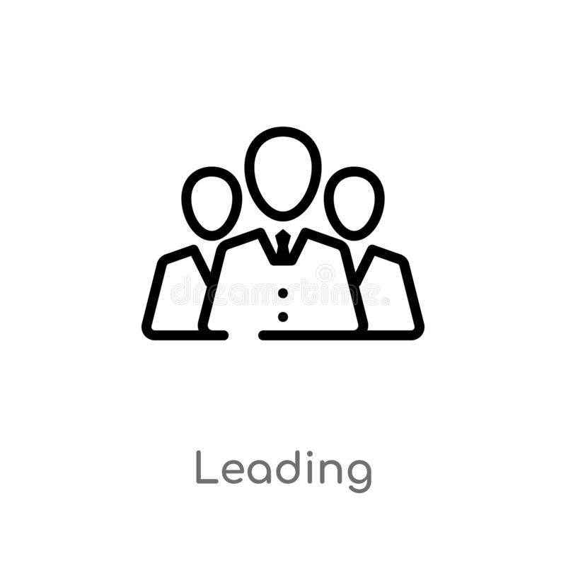 icono principal del vector del esquema línea simple negra aislada ejemplo del elemento del concepto de la tecnología Movimiento E libre illustration