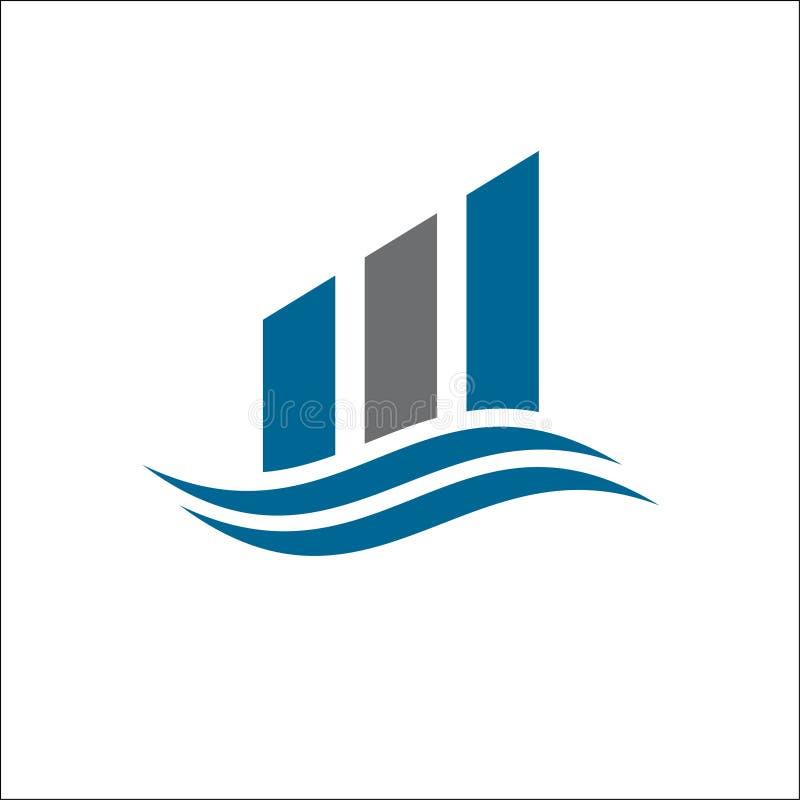 Icono profesional del vector de la plantilla del logotipo de las finanzas del negocio libre illustration