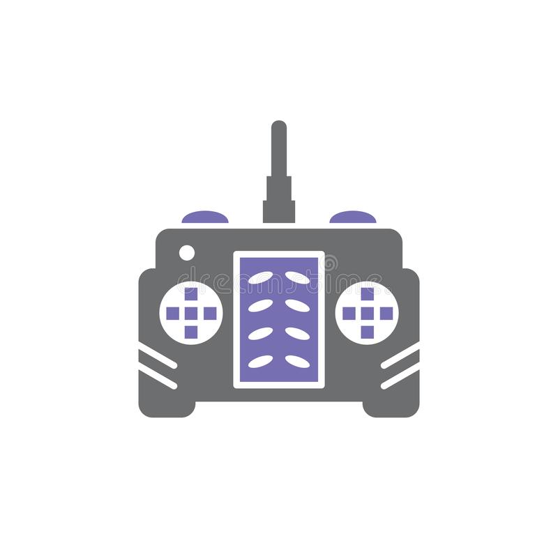 Icono relacionado del abejón en el fondo para el gráfico y el diseño web Ilustraci?n simple S?mbolo del concepto de Internet para ilustración del vector