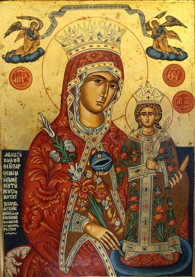 Icono religioso foto de archivo
