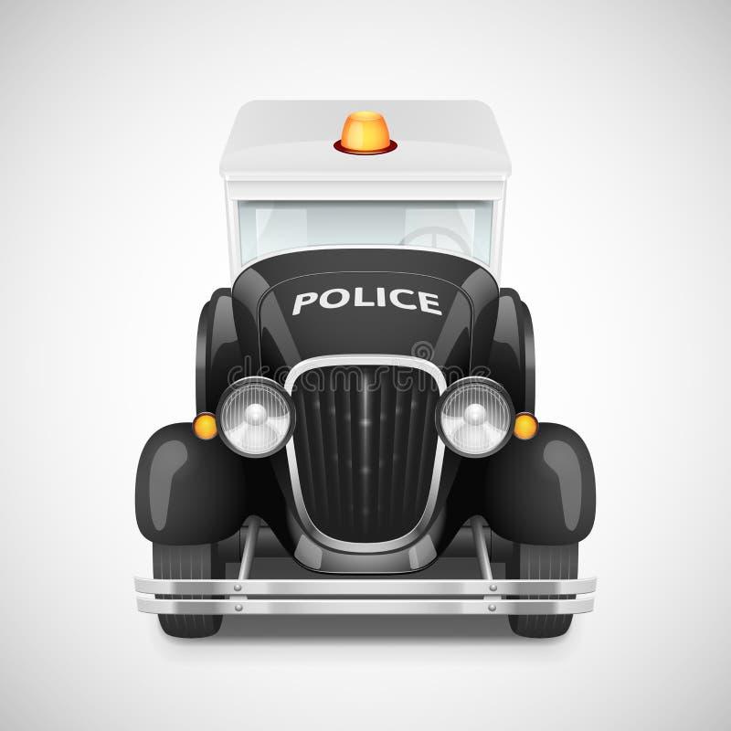Icono retro del coche libre illustration