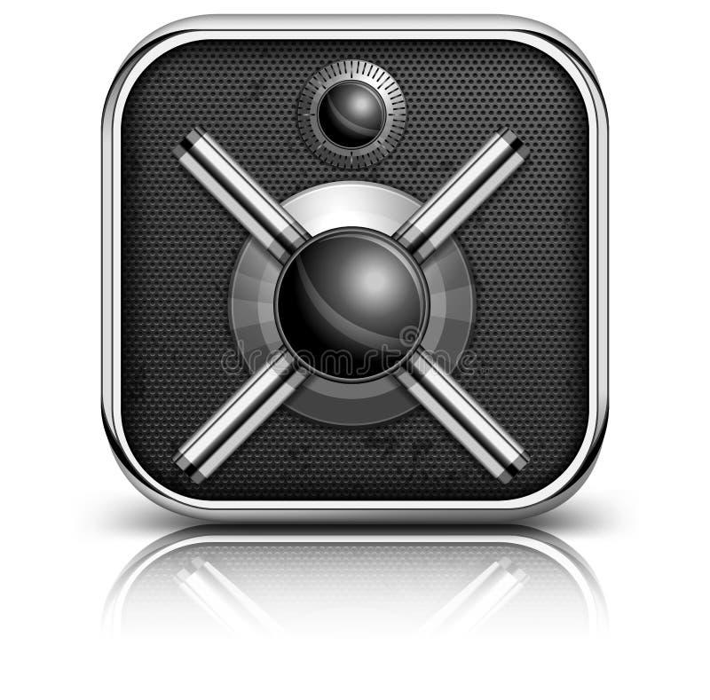 Icono seguro stock de ilustración