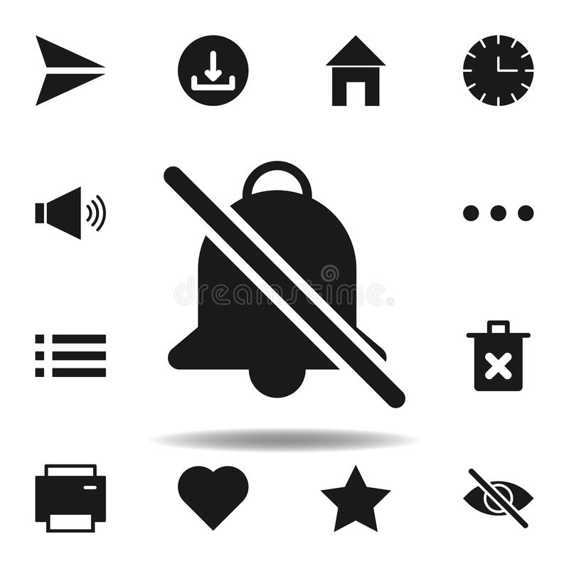 icono silencioso de la p?gina web del usuario fije de iconos del ejemplo de la web las muestras, símbolos se pueden utilizar para stock de ilustración
