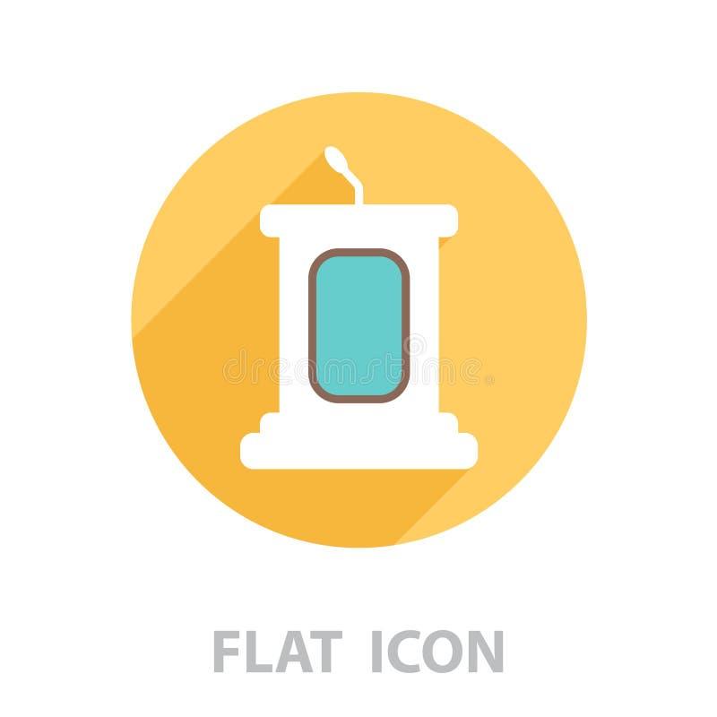 Icono simple del podio Vector libre illustration
