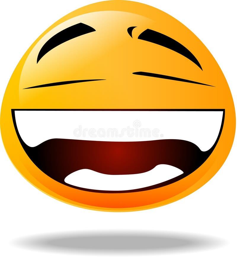 Icono sonriente ilustración del vector