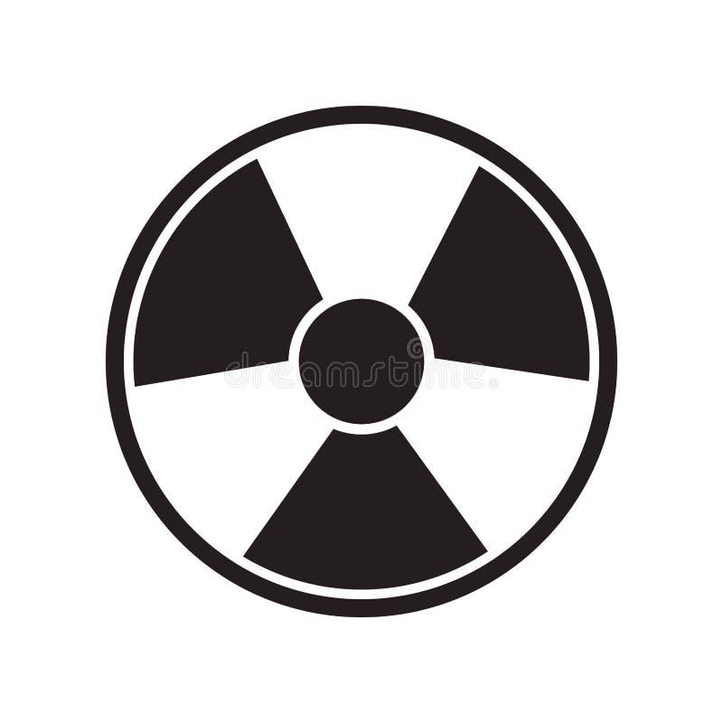 Icono tóxico y nuclear libre illustration