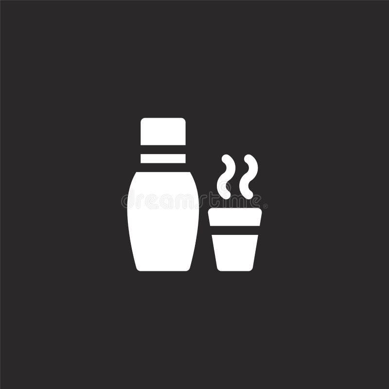 Icono termo Icono termo llenado para el diseño y el móvil, desarrollo de la página web del app icono termo de la colección pesque ilustración del vector