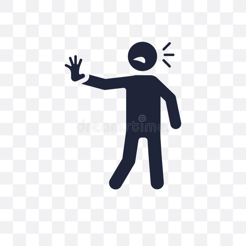 icono transparente humano bombeado diseño humano bombeado del símbolo de F libre illustration