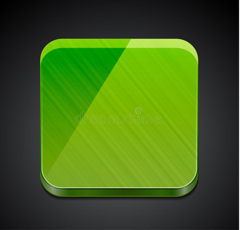 Icono vacío móvil del app | diseño del botón ilustración del vector