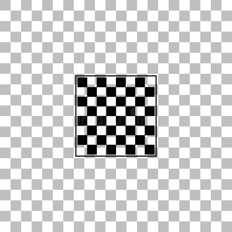 Icono vac?o del tablero de ajedrez completamente libre illustration