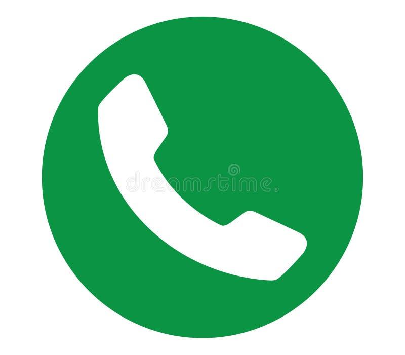 Icono verde del tel fono stock de ilustraci n ilustraci n for Buscar direccion de un telefono
