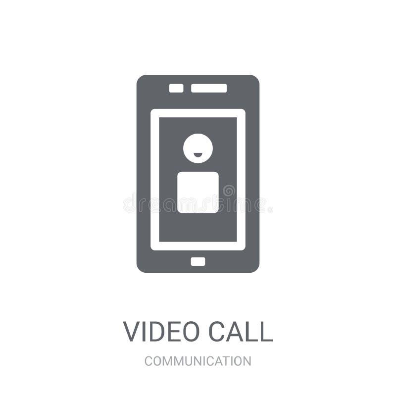 Icono video de la llamada  libre illustration
